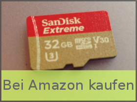 MicroSD-Karte bei Amazon kaufen (Affiliate Link)